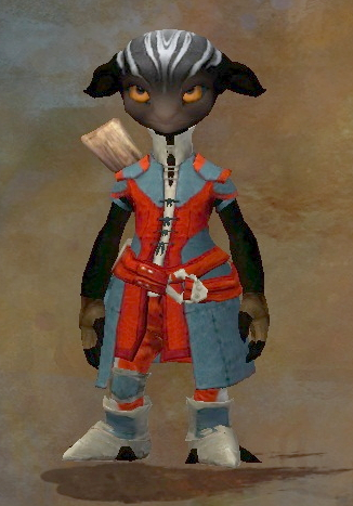 GuildWars2: Newbie Asura character