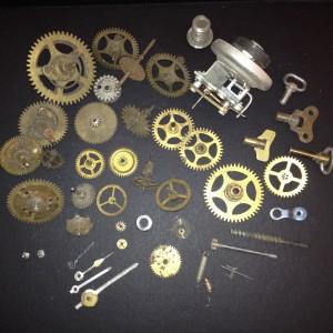 cogwheels (clockwork) - Zahnräder (Uhrwerk)