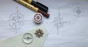 Steampunk-compass-rose