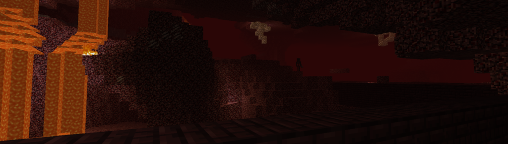 minecraft nether is spooky
